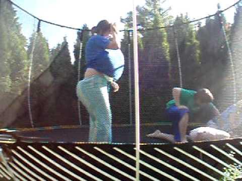 fat people on trampoline 2 youtube. Black Bedroom Furniture Sets. Home Design Ideas