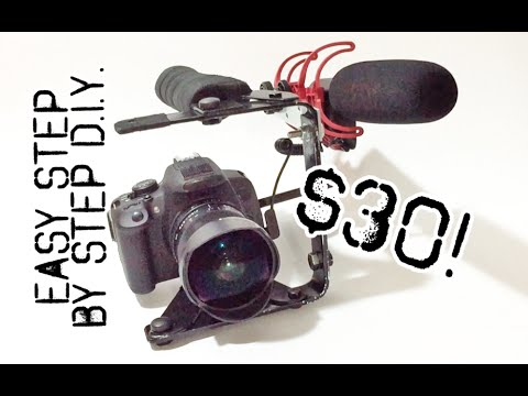 PRO DSLR DIY Handle for $30 - Step by Step w/Test Footage
