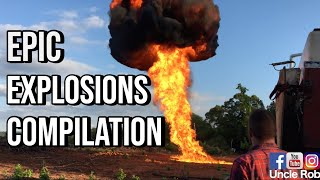 Baixar Best Explosion Compilation With Uncle Rob