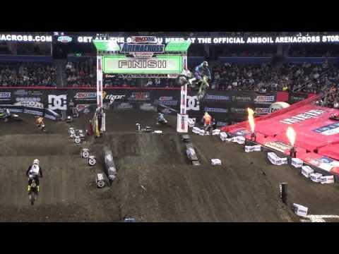 Tampa Amsoil Arenacross Highlights