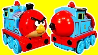 Thomas Angry Bird Tank Surprise Egg Shake N Go Thomas And Friends Toy How To Make