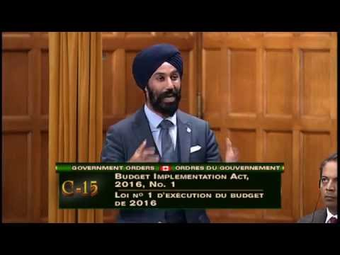 Clip-Budget 2016 Investments in Young Canadians-June 6th 2016