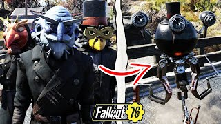Fallout 76 | What Happens if You Speak to the Fasnacht Leader With All Masks? (Fallout 76 Secrets)