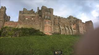 Oct 2019 Caravan holiday Belford, Northumberland, Bamburgh Castle and Seahouses