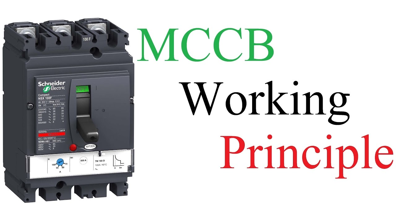 Mcb Mccb Moulded Case Circuit Breaker Electrical