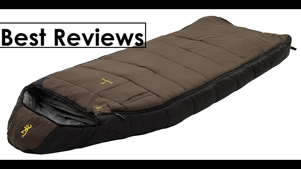 Top Browning Camping Mckinley 30 Degree Sleeping Bag Reviews