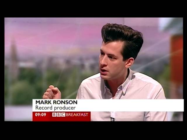 Breakfast 121211 Mark Ronson talks about Amy Winehouse yt
