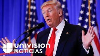 Trump niega veracidad de la supuesta información comprometedora que Rusia tiene sobre él