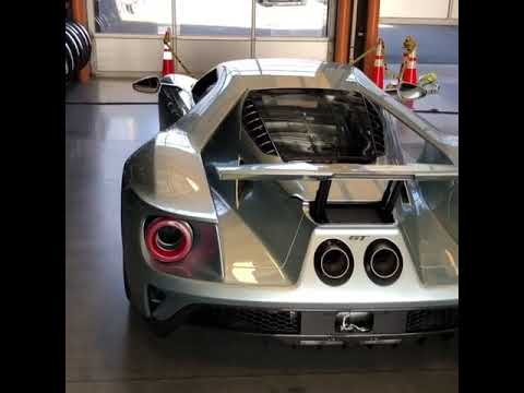 Justin Verlander Just Got A One Off Ford Gt Supercar