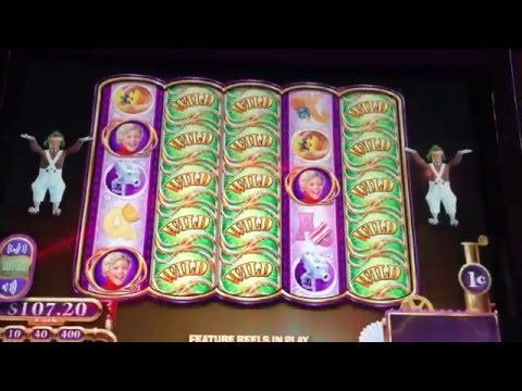 Big Win Live Play Wonka Slot Machine Max Bet
