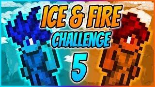 WYZWANIE JESZCZE TRUDNIEJSZE - Terraria: Ice & Fire Challenge #5 (z Xplayem)