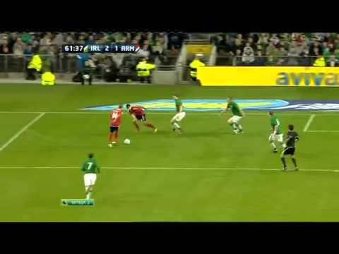 Гол Мхитаряна в матче 'Ирландия   Армения' 2 1
