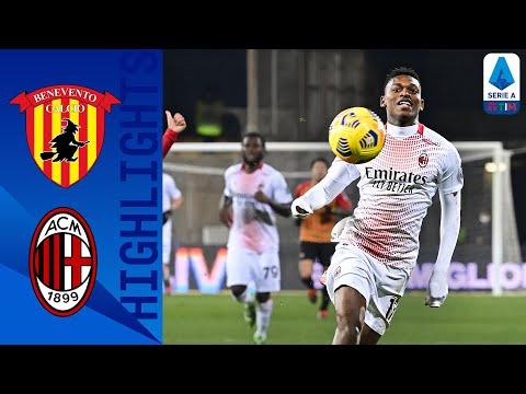 Benevento 0-2 Milan | Kessie e Leão portano i rossoneri al primo posto in classifica | Serie A TIM