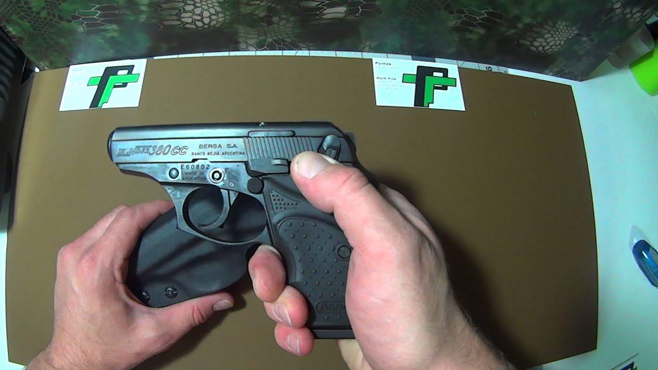 Bersa Thunder 380 CC Kydex holster