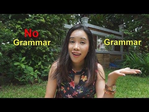 พูดภาษาอังกฤษ แกรมม่าสำคัญแค่ไหน ควรเริ่มสร้างประโยคยังไง