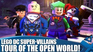 Lego DC Super-Villains - Tour Of The Open World and Character Roster!