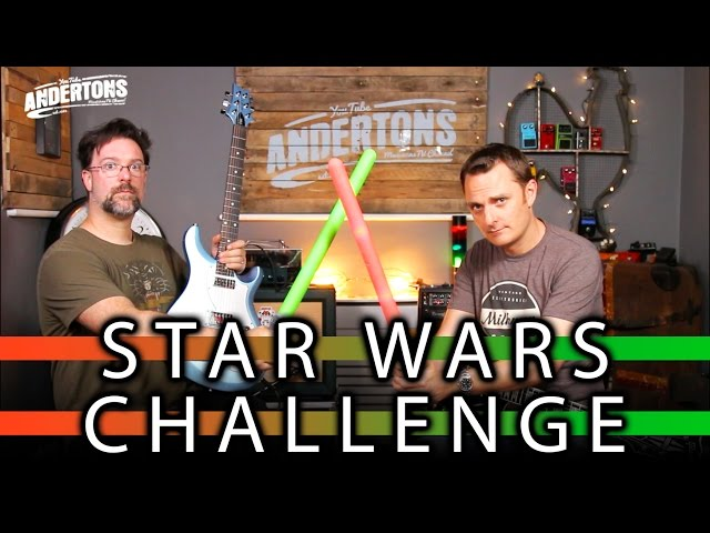 The Star Wars Guitar Rig Challenge