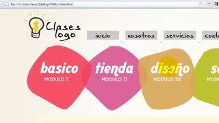 Como crear una pagina web completa en HTML - 3 thumbnail
