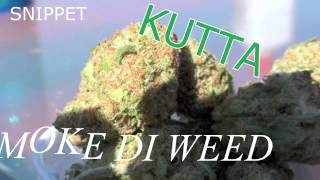 Kutta - Smoke Di Weed (SNIPPET) (Virtual World Riddim) Dancehall June 2015 @DjKuttz