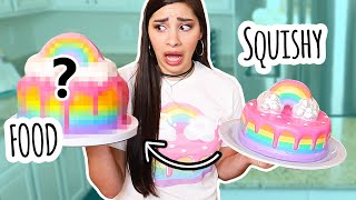 Re-Creating a Squishy in Real Life | Bake With ME