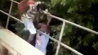 Man Slapped Off Of Bridge In Jamaica!