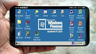 How to run MS Powered HandHeld Pc 2000 (Windows CE 3.0)OS On Any Android Using Bochs