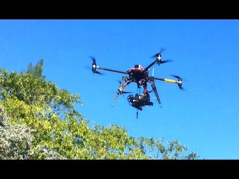 Professional Drone Heavy Lift Quadcopter