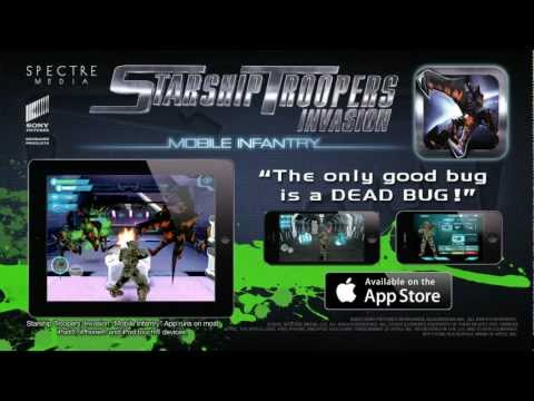 "Starship Troopers: Invasion ""Mobile Infantry"" official game trailer"