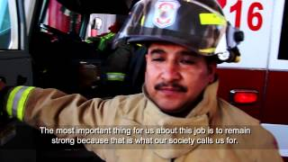 Firemen in Mexico use TRE for stress reduction