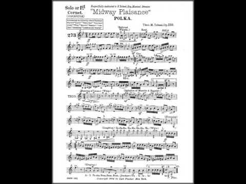 Marching Band Sheet Music - Midway Plaisance by Theo. M. Tobani PDF
