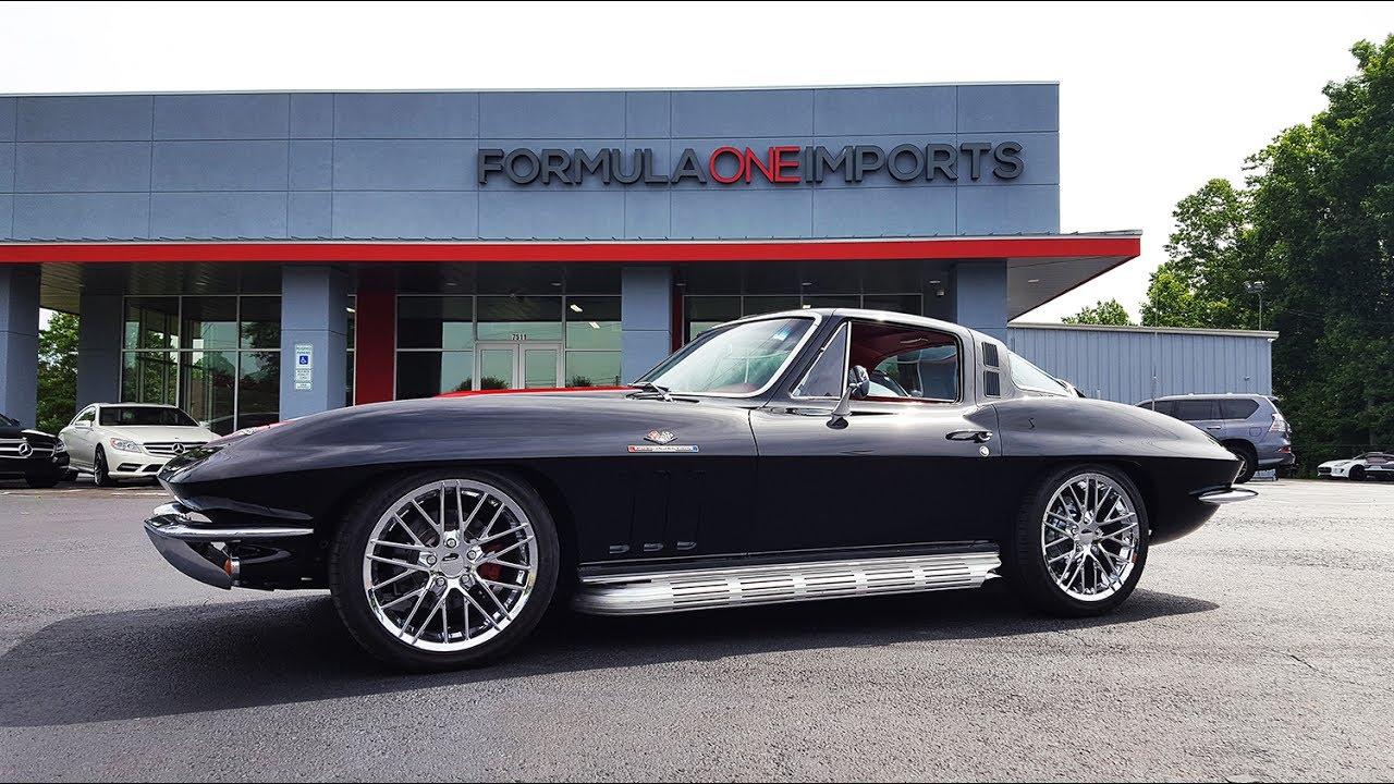 1965 Corvette Black Red RestoMod - Formula One Imports Charlotte