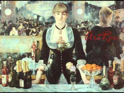 A Bar At The Folies Bergere Manet - A Bar a...