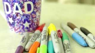 Kids Craft: How To Make A Sharpie Scribble Mug   Goodtoknow