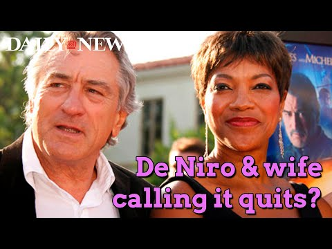 De Niro, wife call it quits after 21 years: report