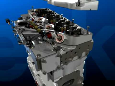 Perkins Diesel Engine Animation  YouTube