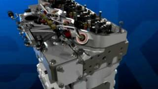 Perkins Diesel Engine Animation