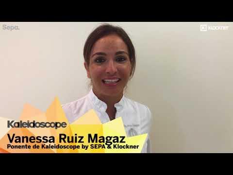 Kaleidoskope, Seminario SEPA - Klockner. Invitación  Vanessa Ruiz