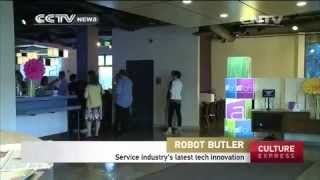 California hotel hires robot butlers to provide room service