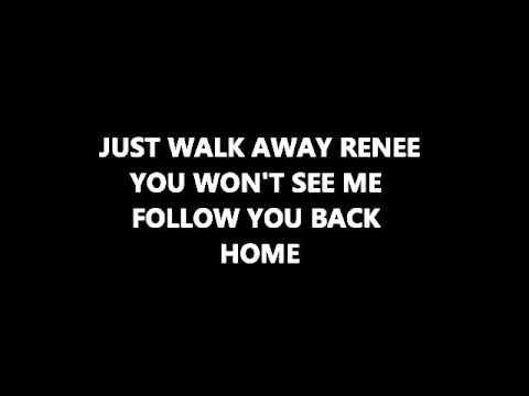 Left Banke -Walk away Renee (with lyrics)