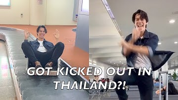 ALMOST GOT KICKED OUT GOING TO THAILAND!!! By Simon Joseph Javier