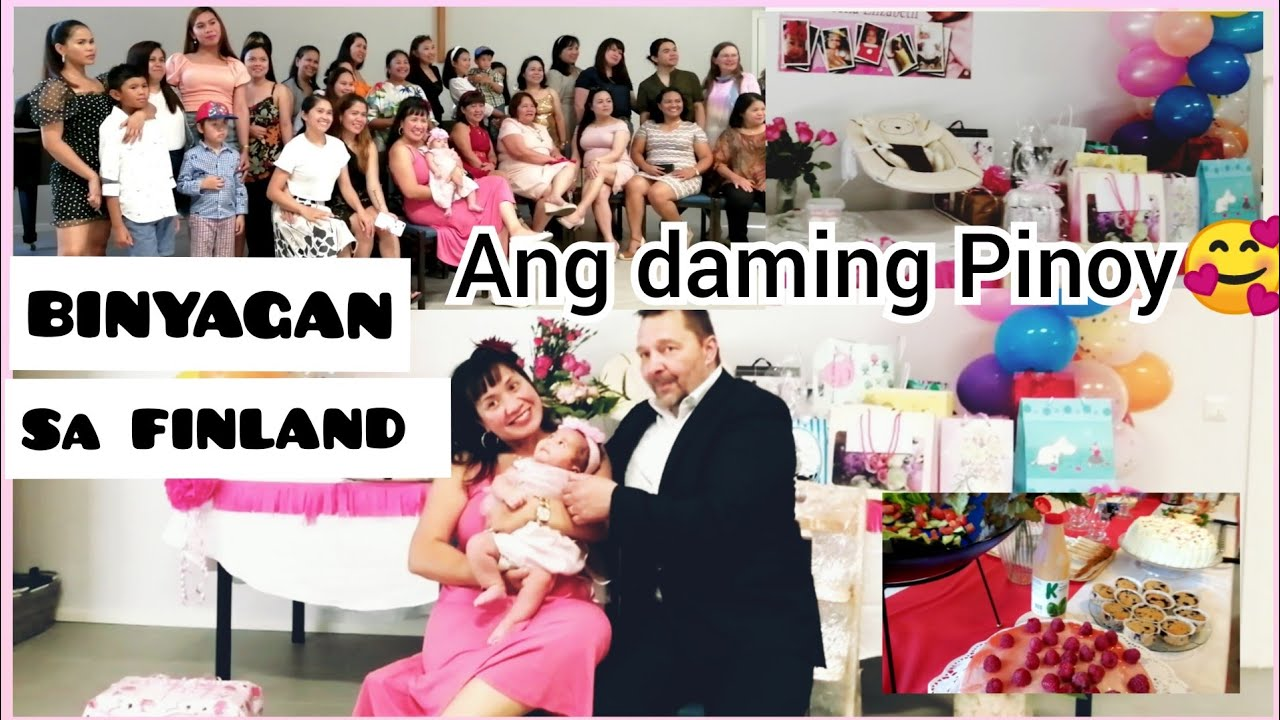 BINYAG NI BABY sa FINLAND | HALF FINNISH HALF FILIPINO BABY | FILIPINA AND FINNISH LIFE IN FINLAND