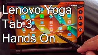 Lenovo Yoga Tab 3 8 Inch 4G LTE Tablet Hands On Review