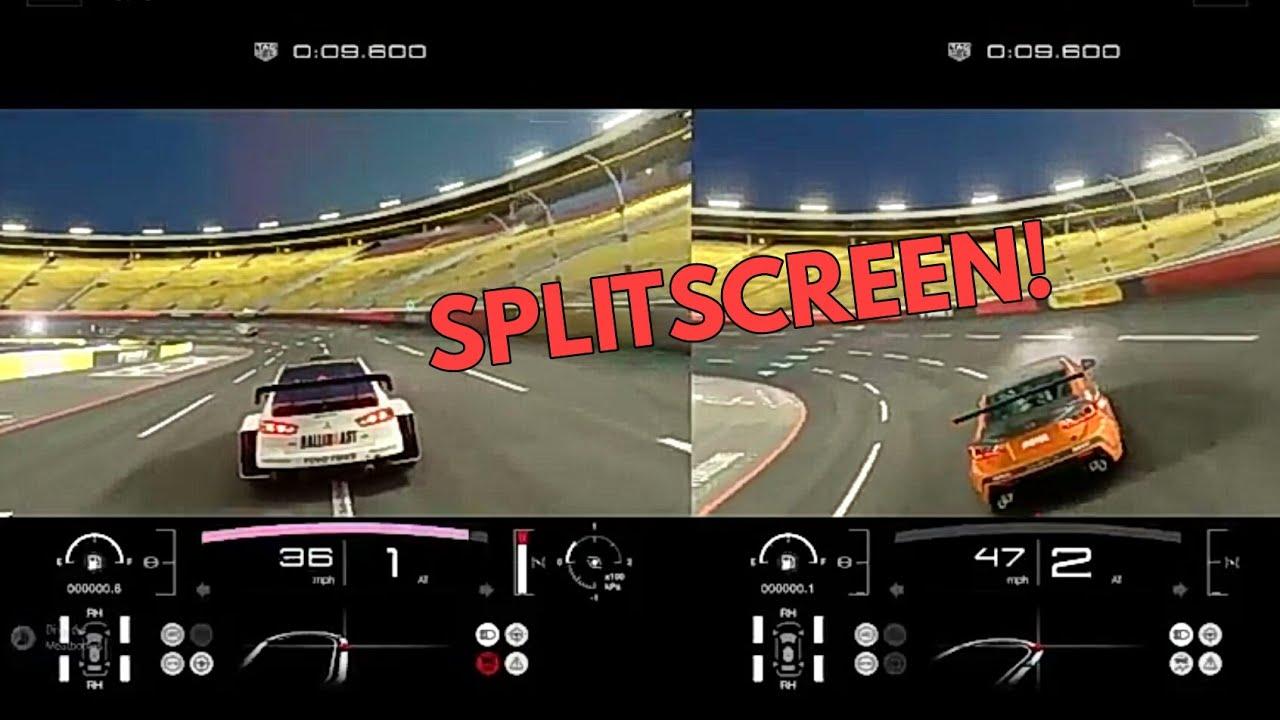 Splitscreen In Gran Turismo Sport