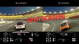 Splitscreen in Gran Turismo Sport!