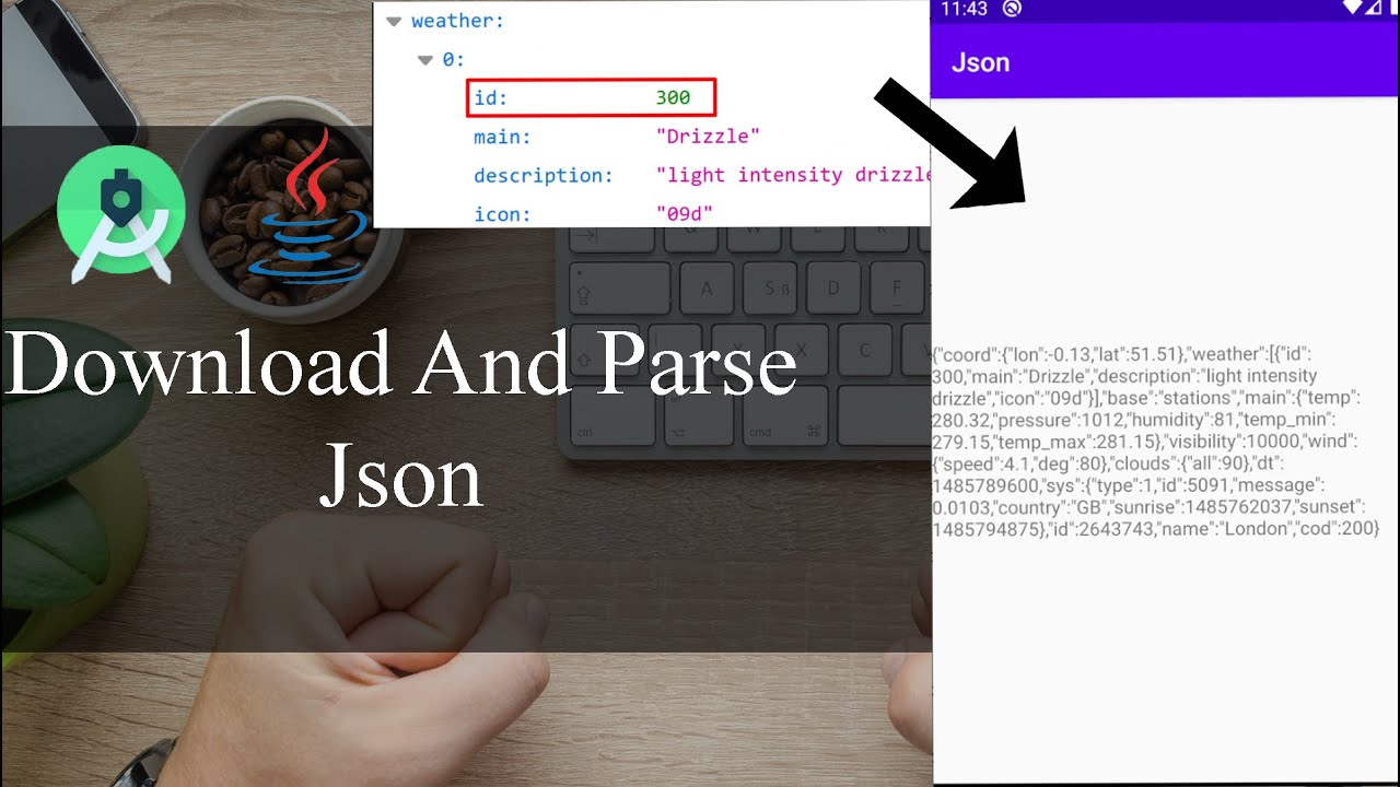 How to download and parse JSON so easy - Android Tutorial