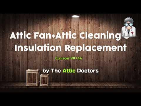 Attic Fan Installation Attic Insulation Removal Attic Insulation Replacement The Attic Doctors