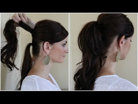Quick Hairstyles Double Ponytail