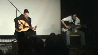 Saudi Students performing in USA guitar and oud  جيتار و عود