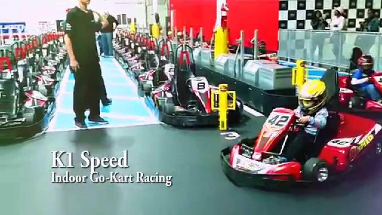 K1 Speed Indoor Go Kart Racing Junior Karting 7 Years Old