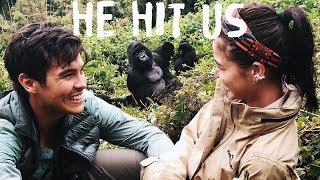 TOUCHED BY GORILLAS in RWANDA (Anne and Erwan in Africa Part 2)